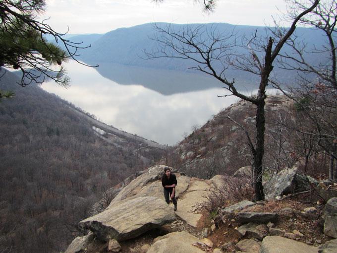 Breakneck Ridge Trail, Hudson Highlands State Park, NY.