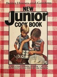 Photo of cover of Betty Crocker Junior Cookbook